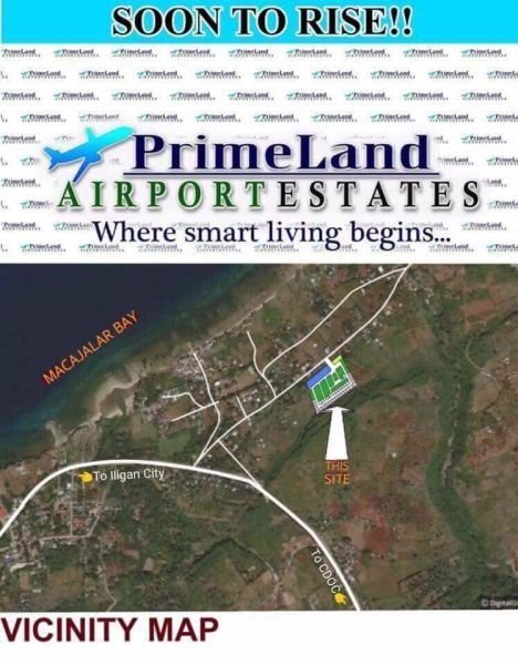 prime land airport estate the newest high end subdivision at laguindingan. situated at mauswagon