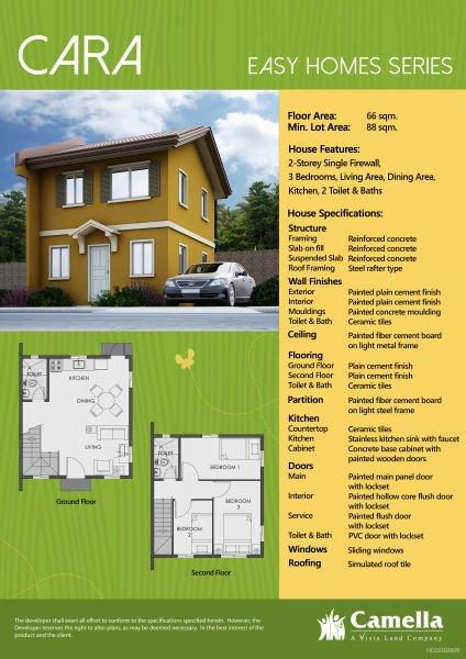 3 bedroom house for sale in camella capiz, sibaguan, capiz