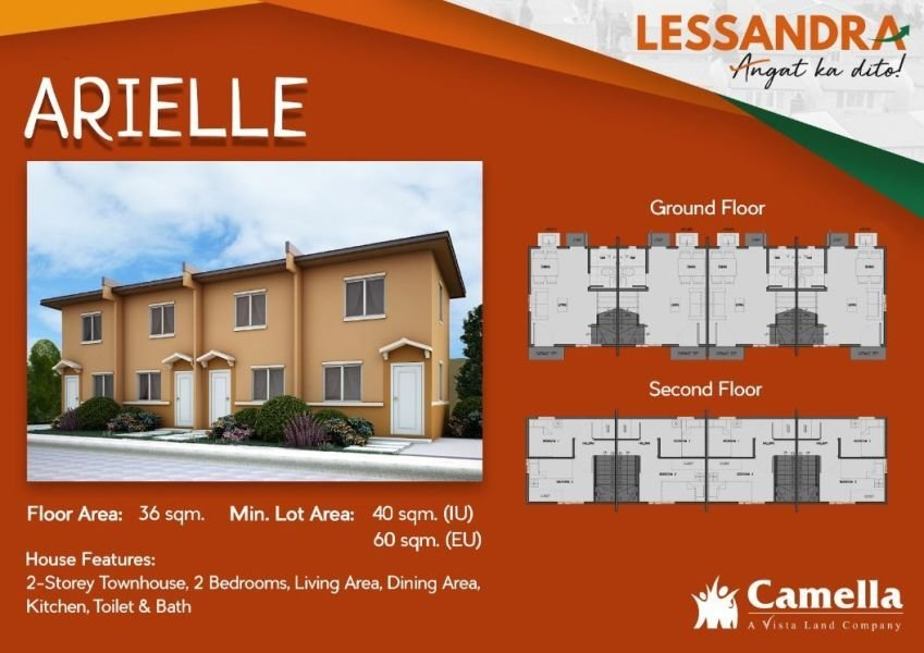 2 storey - townhouse in camella valencia - 2684382
