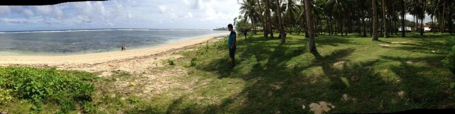 lot for sale beach front bay bay, siargao