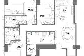 3 Bedroom Condo for sale in GRAND HYATT RESIDENCES, BGC, Metro Manila