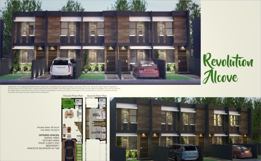 affordable yet modern house & lot for sale