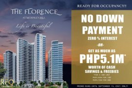 1 Bedroom Condo for sale in The Florence, Taguig, Metro Manila