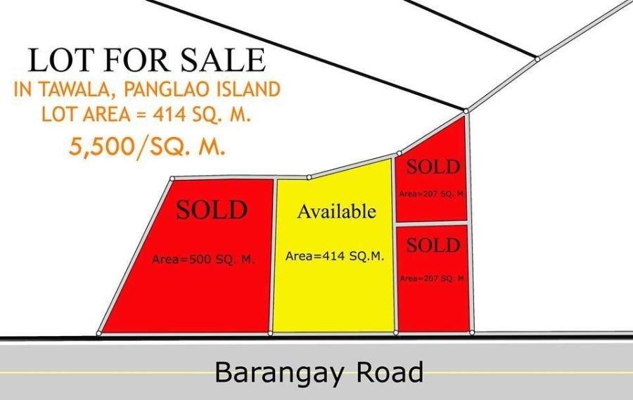 lot for sale panglao island bohol