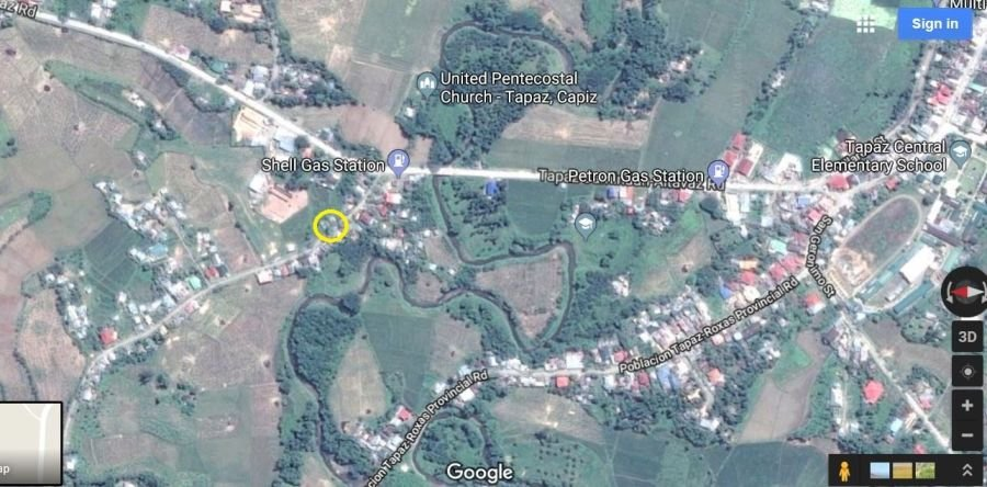 land with house under construction for sale in tapaz capiz