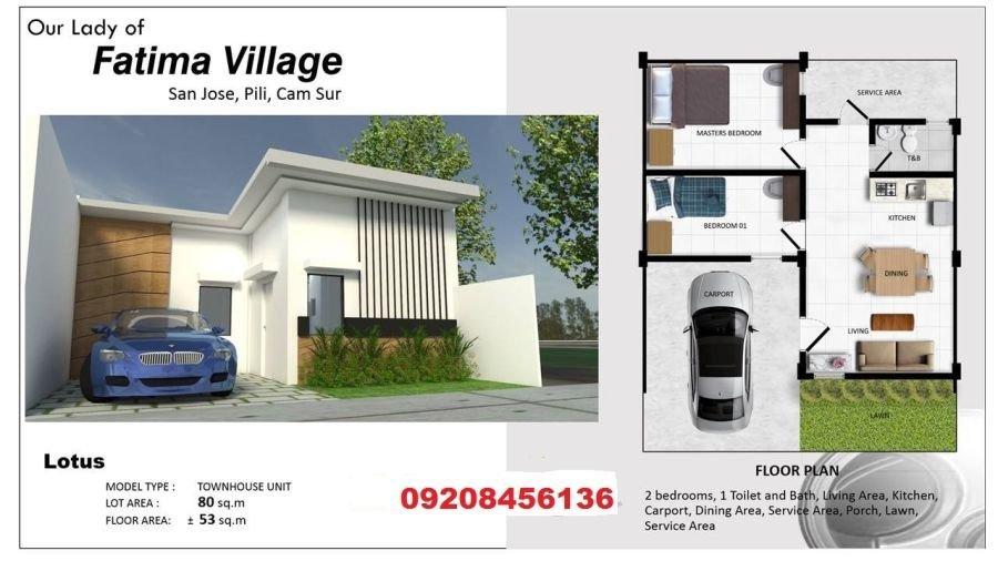 fatima village, lotus model - new