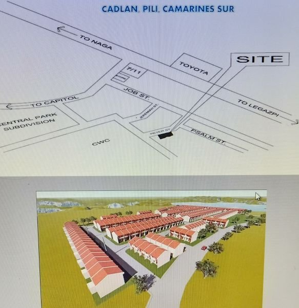 affordable and good investment townhouse in pili cam sur