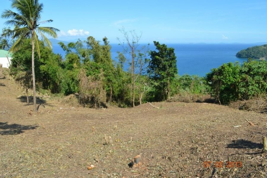 fantastic hilltop residential lot for sale with panoramic ocean views just 15 minutes outside puerto galera