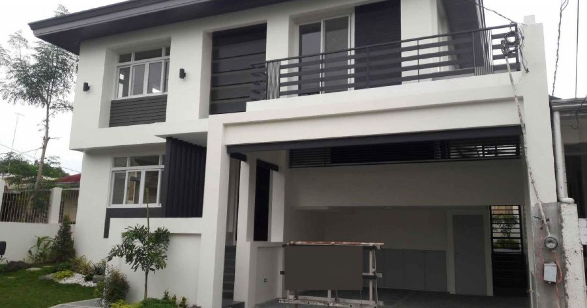 4 bed house for sale in b f homes uno para aque for Six bedroom house for sale