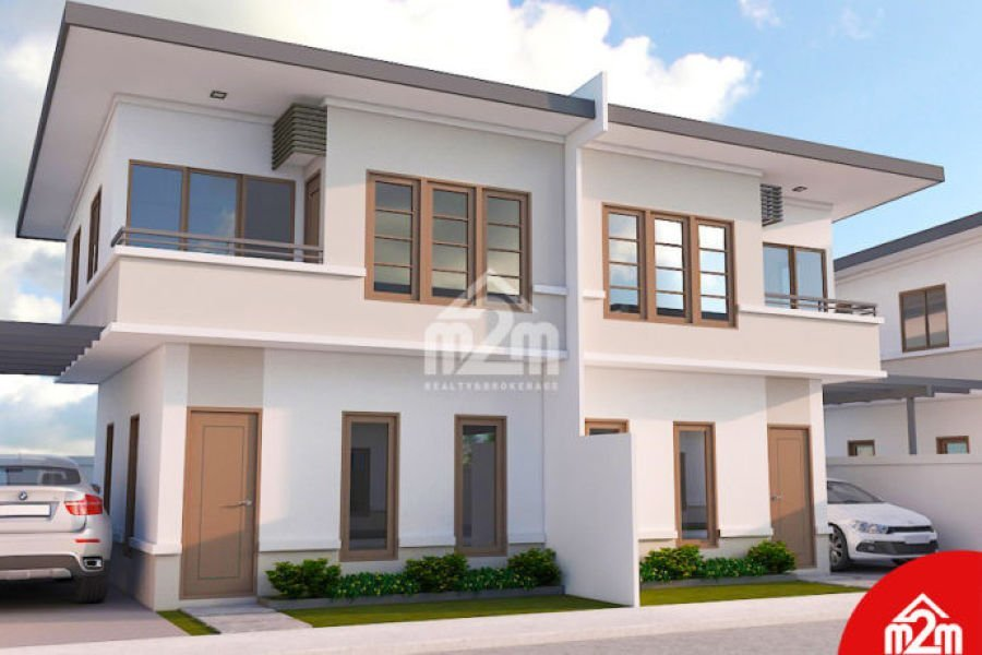 duplex house & lot for sale