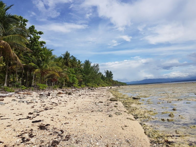 1.8 hectares beach lot in mati davao oriental