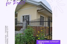 3 Bedroom House for rent in Indangan, Davao del Sur