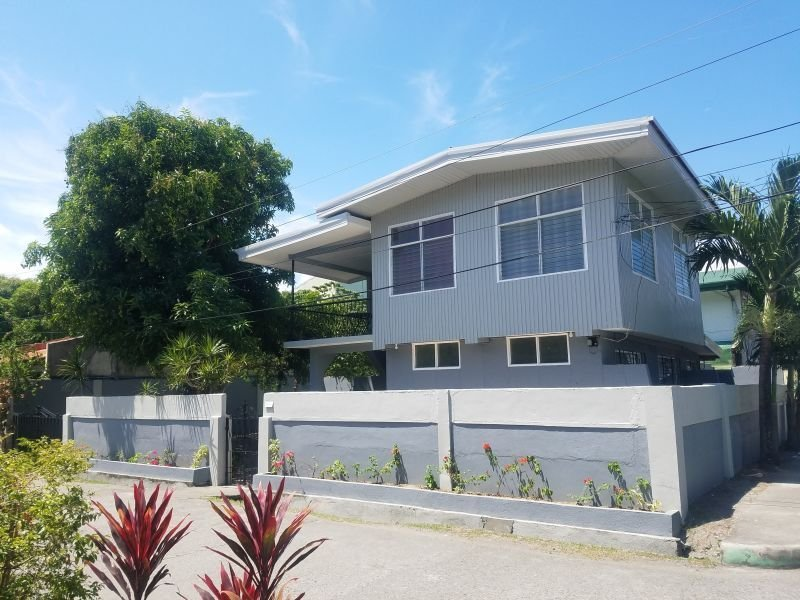 corner home & lot for sale right off roxas ave