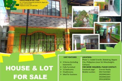 13 Bedroom House for sale in Bakakeng Central, Benguet