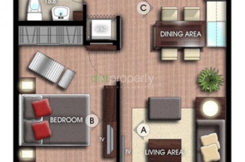 1 Bedroom Condo for sale in La Vie Flats, Muntinlupa, Metro Manila