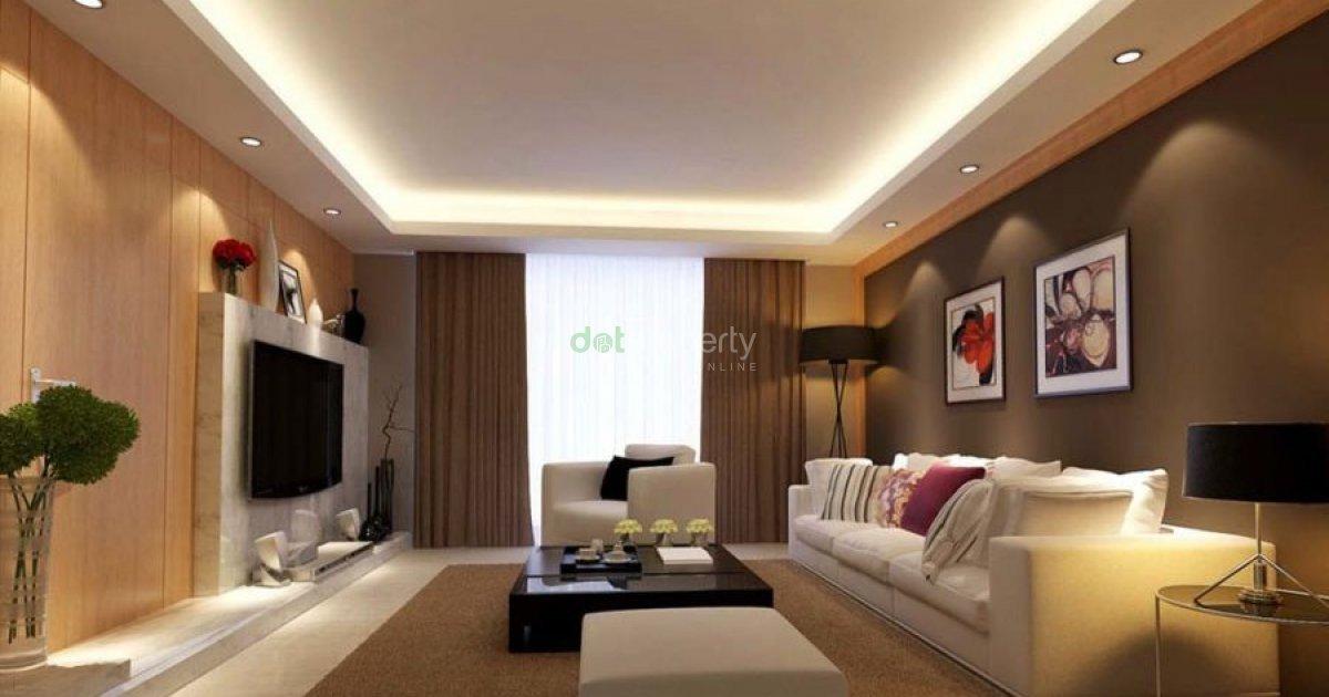 2 bedroom condo in pasay villamor slex with maids room for Cielos rasos modernos