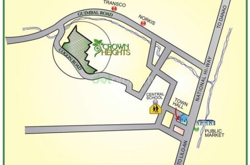 crown heights compostela vicinity map