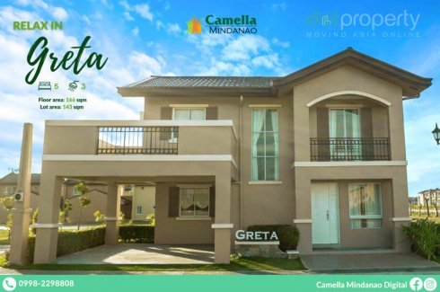 5 Bedroom House for sale in Camella Tagum Trails, Tagum, Davao del Norte