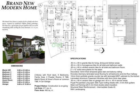 5 Bedroom House For Sale In Quezon City Metro Manila