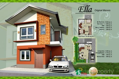2 Bedroom House For Sale In Sorosoro Ilaya, Batangas
