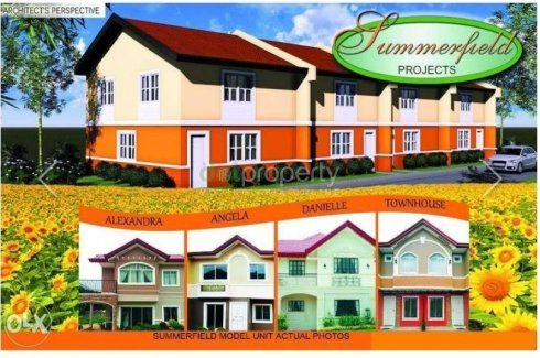 1 bedroom townhouse. 1 bedroom townhouse for sale in Summerfield Subdivision bed  Trece