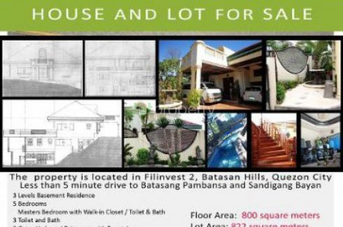 7 Bed House For Sale In Quezon City Metro Manila 29 500 000 1758825 Dot Property