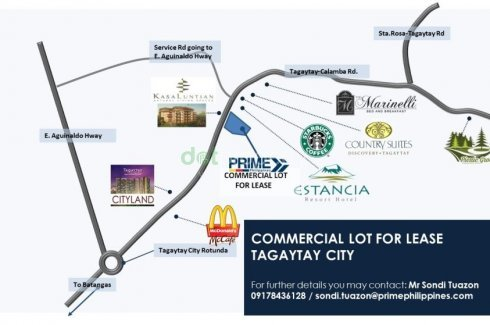Land For Rent In Maitim 2nd West Tagaytay 2499672 Dot