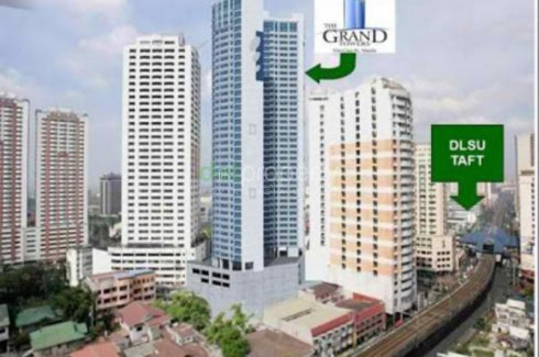 1 bedroom condo for rent in The Grand Towers Manila