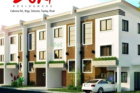 3 Bedroom Townhouse For Sale In Zuri Residences, Taytay, Rizal