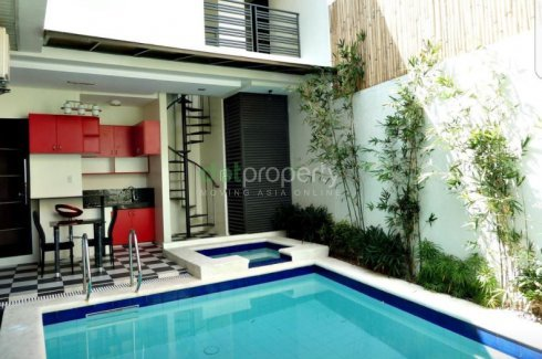Rush 7 Br Semi Furnished House And Lot With Swimming Pool House For Sale In Metro Manila