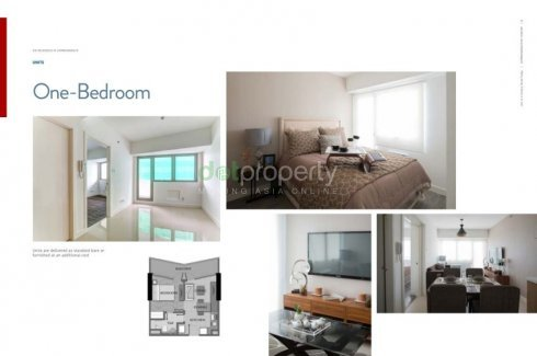 1 bedroom condo for sale in Commonwealth by Century Properties