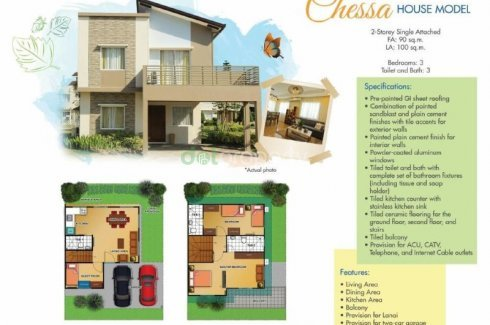 House And Lot In CAVITE For Sale LANCASTER NEW CITY 📌 House For Fascinating 3 Bedrooms For Sale Set Plans