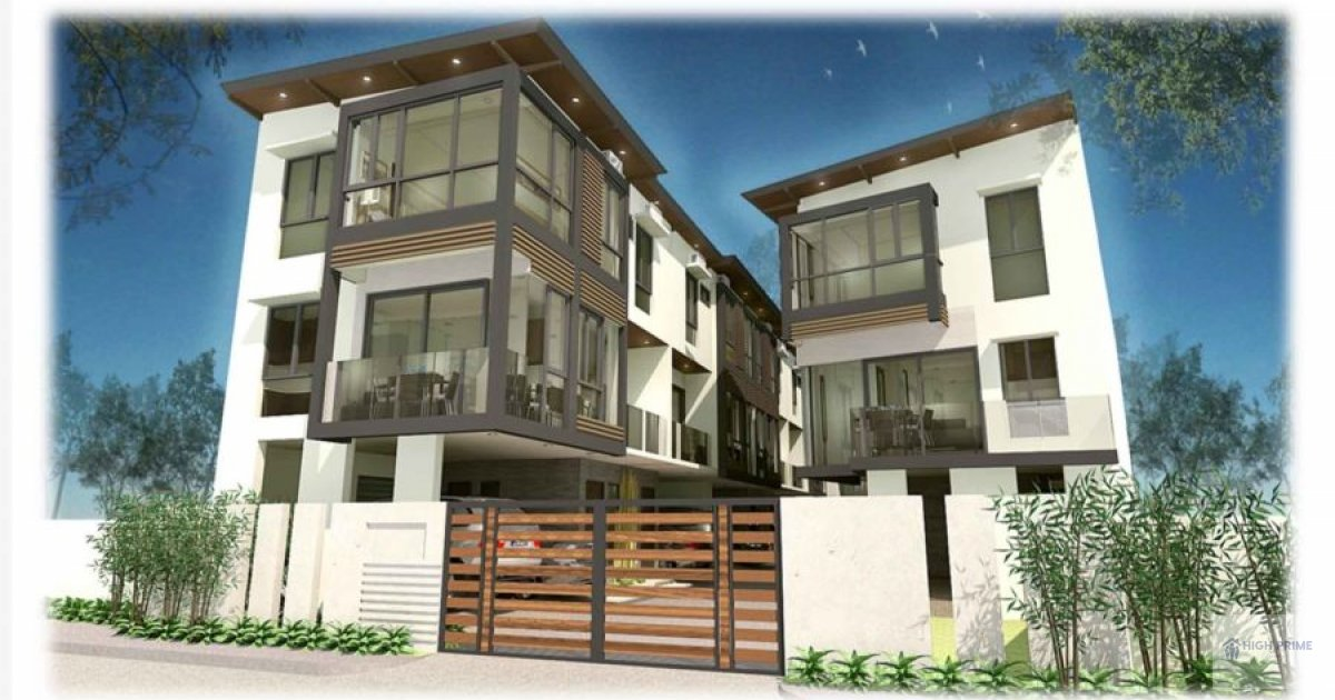 Quality townhouse in don antonio quezon city townhouse for Homes up for auction