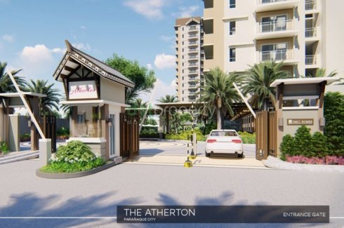 The atherton pre selling 2 bedroom condo in paranaque condo for sale in metro manila dot for 2 bedroom house for sale san antonio