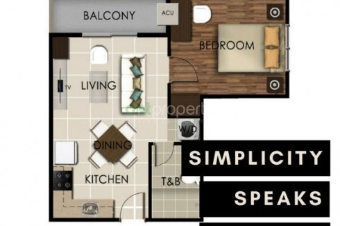 Valenza Mansions 1 Bedroom Citipad Condominium For Sale Condo For Sale In Laguna Dot Property